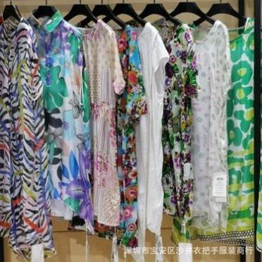 北京大码品牌澜熙麻工坊真丝 女装夏季新款爆款 天天特价连衣裙