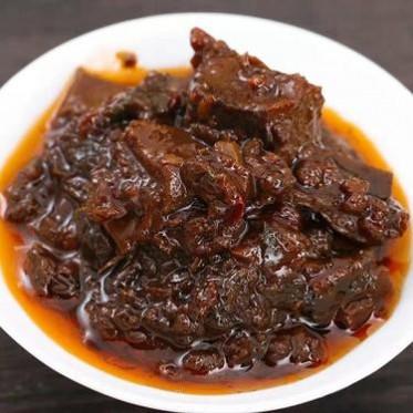 厨房调味品手工香辣牛肉酱拌面拌饭下饭酱火锅蘸料微辣牛肉酱