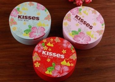 正品保障kisses好时巧克力盒装 婚礼糖果6/10颗结婚喜糖满月周岁