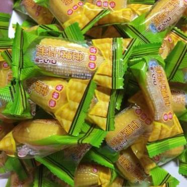 吉祥猴水果糖软糖散装500g38颗芒果玉米味软糖果婚庆喜糖儿童零食