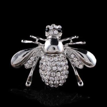 欧美精品胸针饰品 热卖合金昆虫蜜蜂胸针胸扣配饰 义乌外贸批发