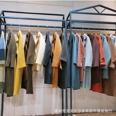 高端classical双面绒大衣阿尔巴卡大衣 品牌折扣女装货源直播